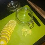 przygotowana cytryna