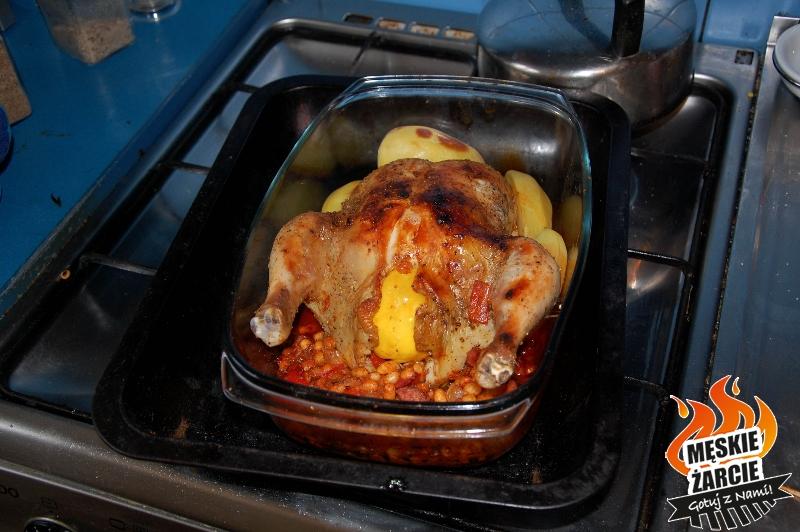 Kurczak z fasolą i cytryną 1