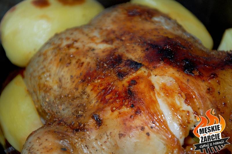 Kurczak z fasolą i cytryną 3