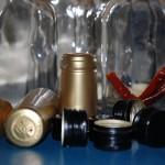 butelki z przyprawami
