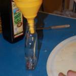 Nalewanie oliwy